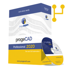 Software CAD ProgeCAD 2020 PRO NLM Upgrade